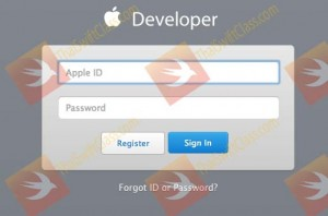 ThaiSwiftclass Chapter 3 apple developer login